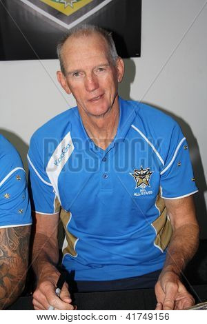Wayne Bennett Nrl All Stars Coach