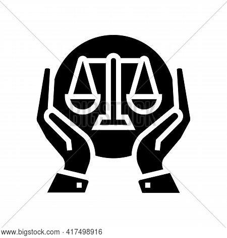 Legislation Law Dictionary Glyph Icon Vector. Legislation Law Dictionary Sign. Isolated Contour Symb