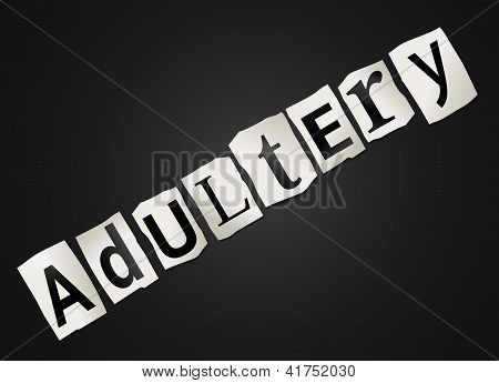 Adultery Concept.