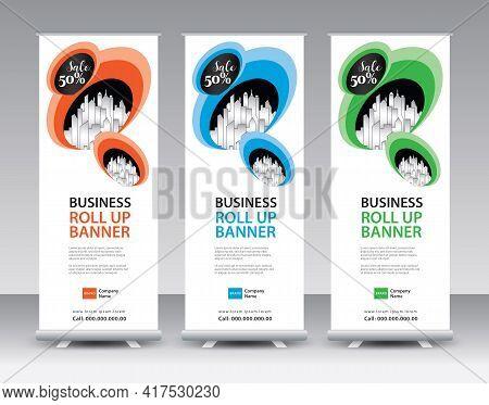 Roll Up Banner Design-55