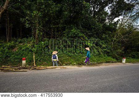 People In Phong Nha Vietnam