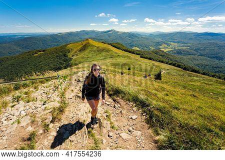 Polonina Carynska Path In Bieszczady
