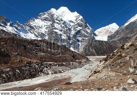 Mount Hongku Or Honku Chuli Peak, Way To Makalu Base Camp, Barun Valley, Nepal Himalayas