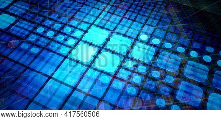 Multimedia Technology Background As A Art Concept