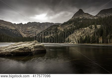 Views From The Shore Of Spirit Lake And The Continental Divide In Rocky Mountain National Park, Colo