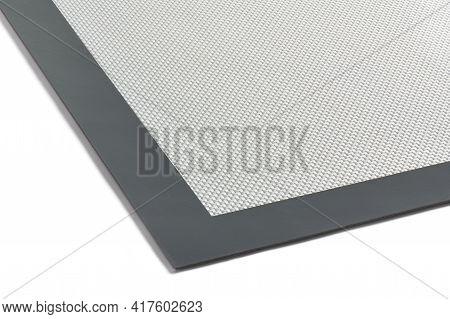 Fragment Of Multipurpose Fiberglass Silicone Baking Mat, Cut Out