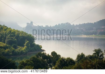Czorsztyn Castle In Pieniny Poland