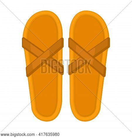 Flop Flip Vector Icon.cartoon Vector Icon Isolated On White Background Flop Flip.