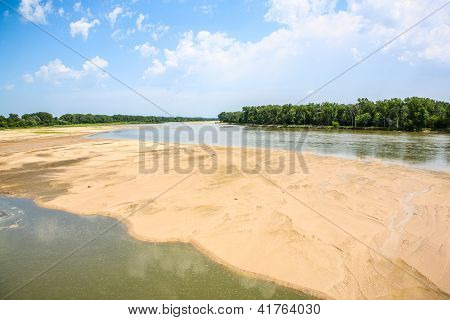 Platte River, west of Omaha, Nebraska