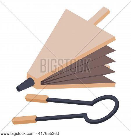 Blacksmith Equipment Icon. Isometric Illustration Of Blacksmith Equipment Vector Icon For Web