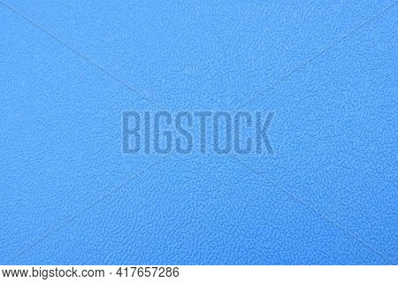Embossed Grained Leather Texture With Veins Blue Surface