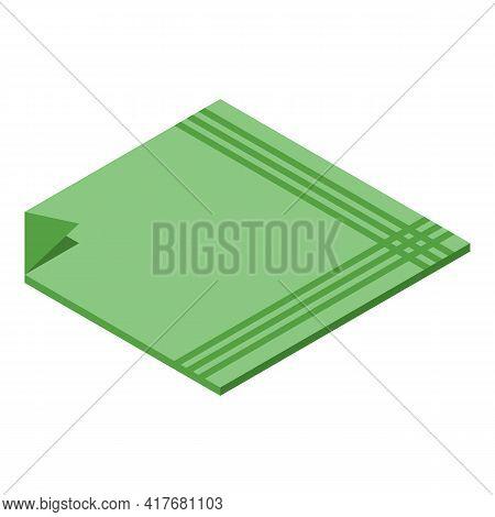 Personal Handkerchief Icon. Isometric Of Personal Handkerchief Vector Icon For Web Design Isolated O