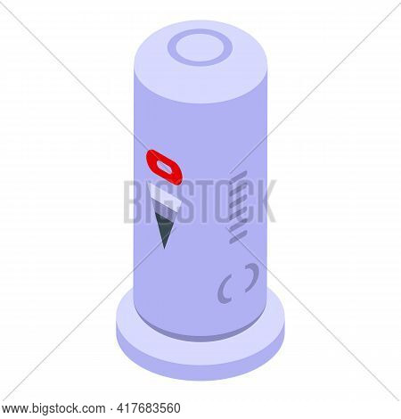Modern Air Freshener Icon. Isometric Of Modern Air Freshener Vector Icon For Web Design Isolated On