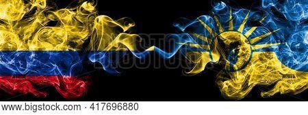 Colombia, Colombian Vs United States Of America, America, Us, Usa, American, Mesa, Arizona Smoky Mys