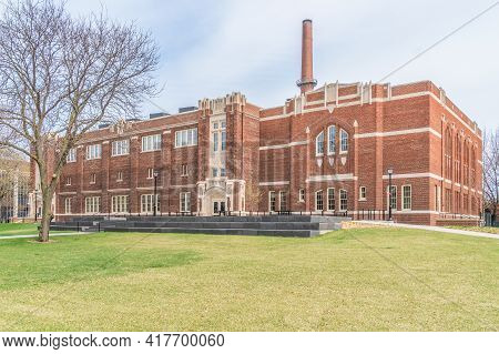 Wittich Hall At The University Of Wisconsin-la Crosse