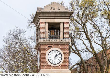 Hoeschler Tower At The University Of Wisconsin-la Crosse