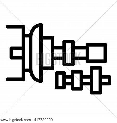 Clutch Tool Icon. Outline Clutch Tool Vector Icon For Web Design Isolated On White Background
