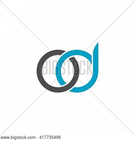 Illustration Vector Design Graphic Of Logo Letter Od