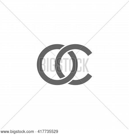 Illustration Vector Design Graphic Of Logo Letter Oc