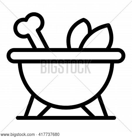 Protein Food Icon. Outline Protein Food Vector Icon For Web Design Isolated On White Background