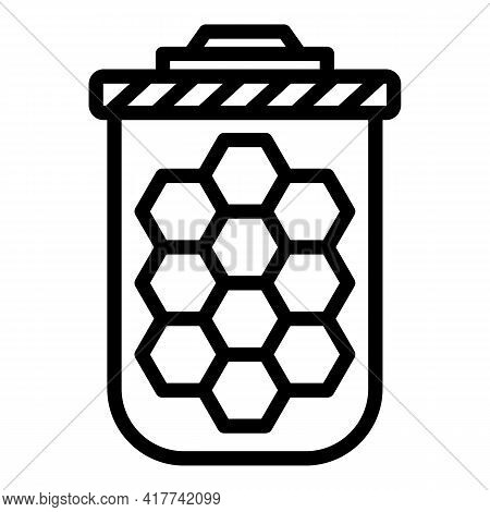 Filter Cartridge Icon. Outline Filter Cartridge Vector Icon For Web Design Isolated On White Backgro