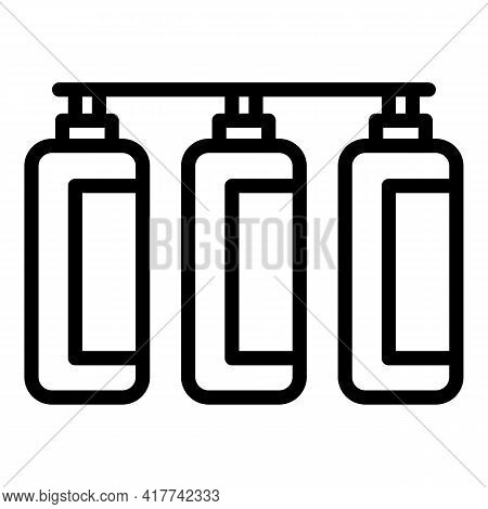 Filtration Equipment Icon. Outline Filtration Equipment Vector Icon For Web Design Isolated On White