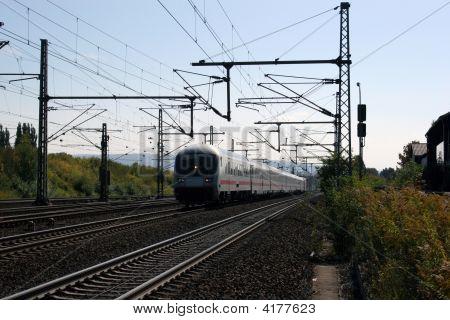 Train On The Move