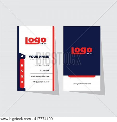 Business Card Design Fully Vector Fully Editable And Re Sizable Useful For Who Update Their Business