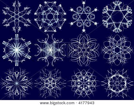 Snowflake Set 7