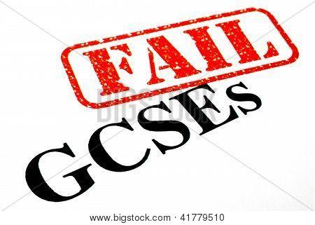 Failed GCSEs