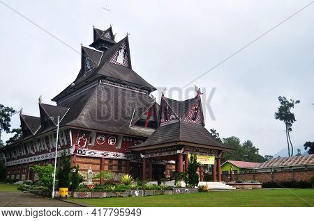 St. Francis Of Assisi Catholic Church Gereja Katolik Or St. Fransiskus Assisi Berastagi For Indonesi