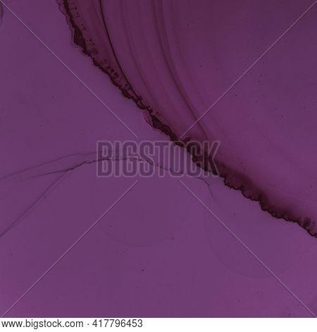 Burgundy Wine Background. Watercolour Maroon Pattern. Modern Gradient Splash. Purple Ink Design. Bur