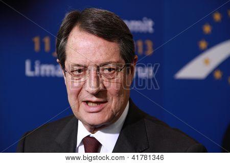 Nicos Anastasiades, Presidential Contender.