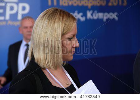Minister of State for European Affairs Lucinda Creighton