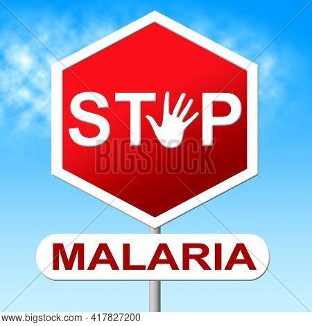 Background For World Malaria Day. Stop Malaria