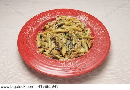 Delicious Italian Dish Known As Penne Pasta Chicken