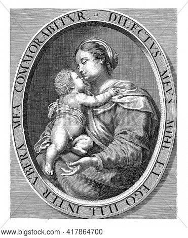 Maria met Kind, Johannes Vinckboons
