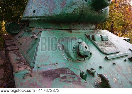 The T-34 Tank Is The Old World War Ii