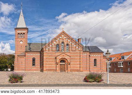 Church of our Saviour or Vor Frelsers Kirke at Esbjerg, Denmark