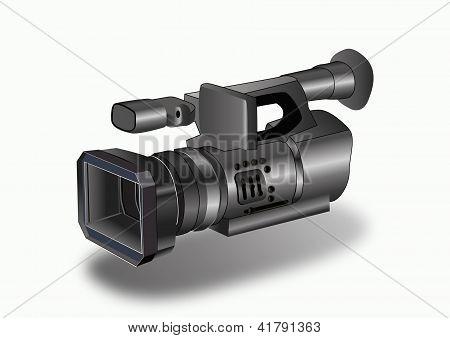 Video camera .