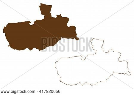 Offenbach District (federal Republic Of Germany, Rural District Darmstadt Region, State Of Hessen, H