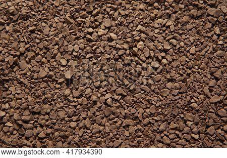 Image Of Coffee Granules Background Studio Light
