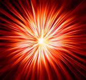 abstract explosion background generated by the computer poster
