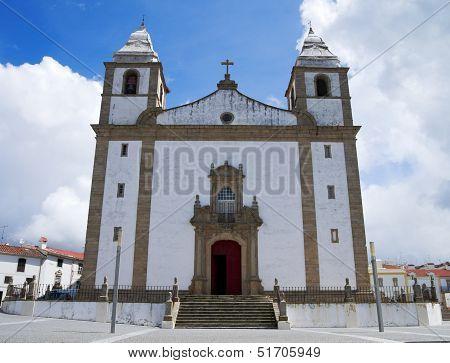 Main Church Of Castelo De Vide
