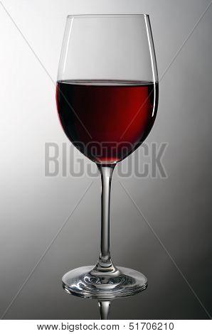 Wineglass With Redwine