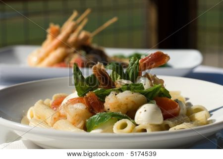 Prawns With Chilli And Penne