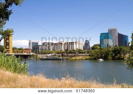 Sacramento City Skyline