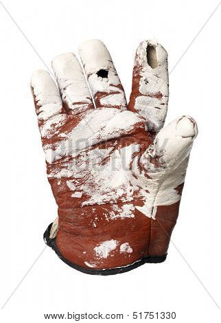 Dirty protection glove