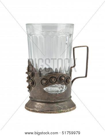 Antique Glass-holder