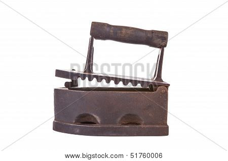 Old-style Charcoal-powered Iron